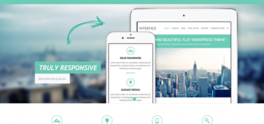 Interface Free Responsive WordPress Theme